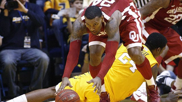 Sooners Rally From Second Half Deficit To Knock Off West Virginia