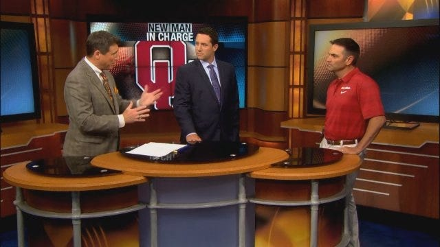 New Oklahoma Baseball Coach Pete Hughes In Studio