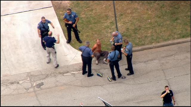 Standoff Ends Peacefully At Home In Bethany