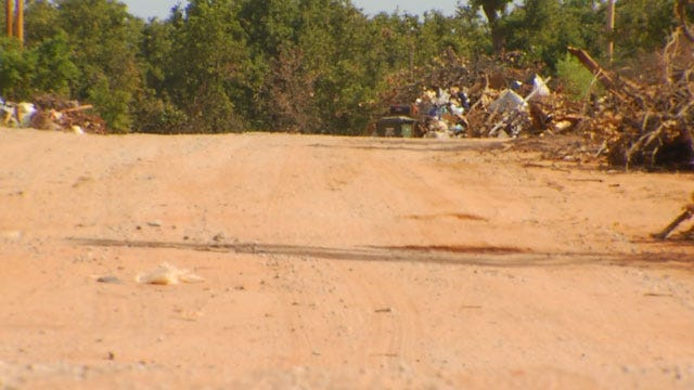 Little Axe Residents Upset Over Roads Damaged By Service Vehicles