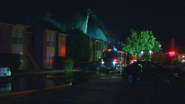 El Reno Apartment Fire Destroys 8 Units