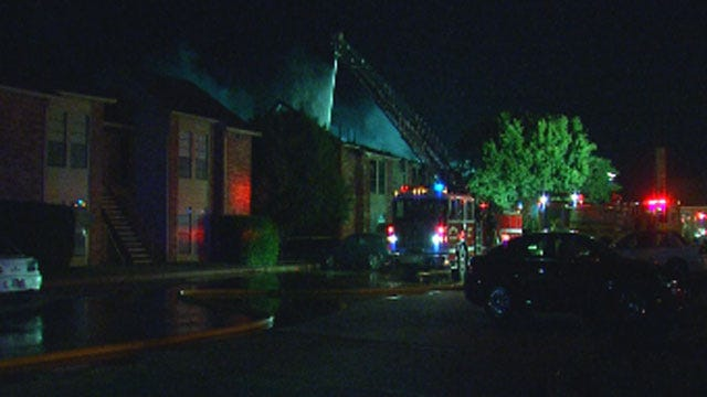Firefighters Douse Separate Fires At Apartment, House In El Reno
