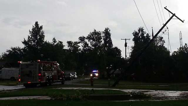 Tuesday Night Storms Cause Power Outages, Damage In OK