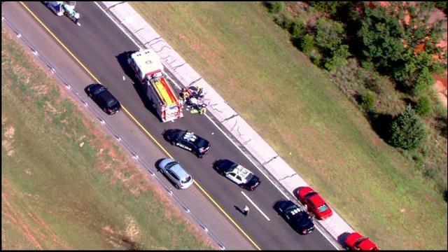 Pedestrian Killed By Semi Truck On I-240 In SE OKC
