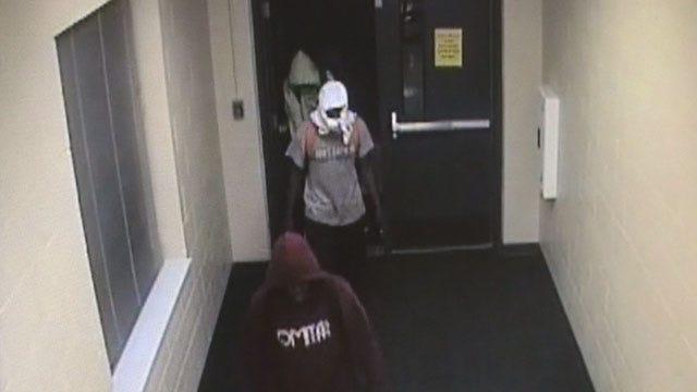 Surveillance Footage Shows OKC Elementary School Vandals