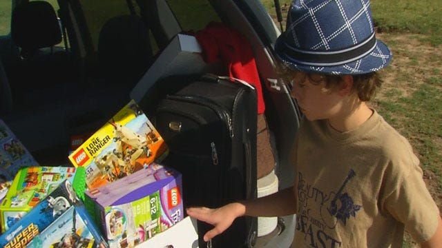 Washington Boy Donates Legos To Oklahoma Kids Affected By Tornado