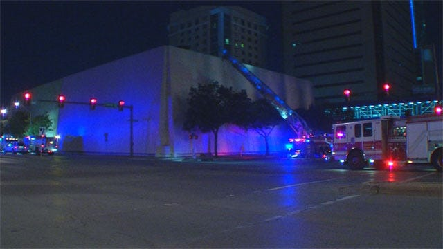Fire Briefly Threatens Air Conditioning In Downtown Buildings