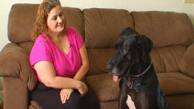 Woman, Service Dog Kicked Out Of Norman Business; Discrimination Claimed