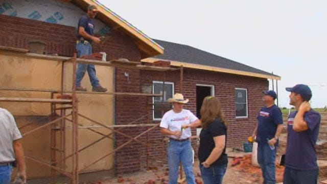 First Home Rebuilding Project Gets Underway In Moore