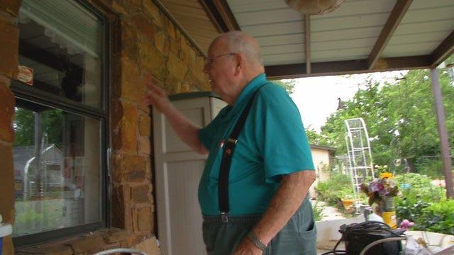 Men Caught On Camera Before Breaking Into Veteran's Home