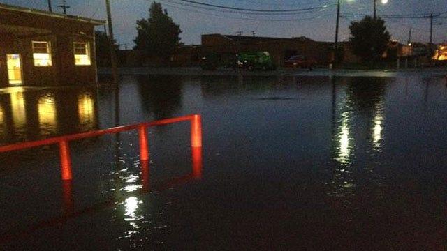 Downpours Flood Roads Across Metro, Norman Police Warn Drivers