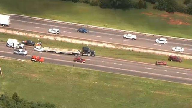 Emergency Crews Respond To Multi-Vehicle Collision In Edmond