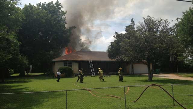 Firefighters Douse House Fire In Spencer