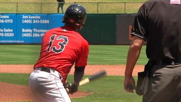 Springer's Home Run Sends RedHawks Past Cubs