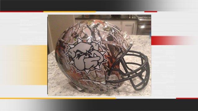 Confusion Involving SWOSU's New Camo Helmet