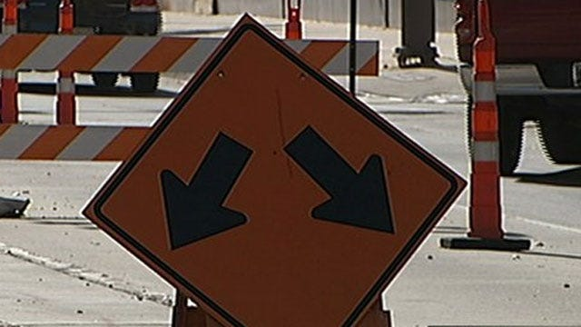 Part Of I-40 In Del City Closed Due To Hole In Bridge