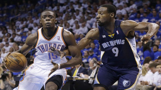 Former Cowboy Tony Allen Re-Signs With Grizzlies