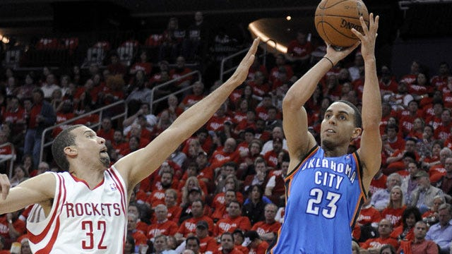 Thunder's Martin Signs With Timberwolves
