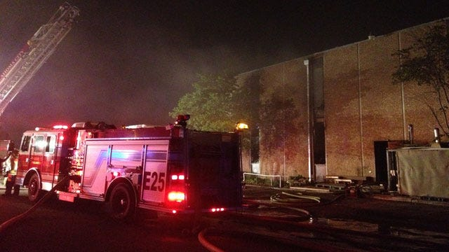Fire Damages Church Gym In SW OKC