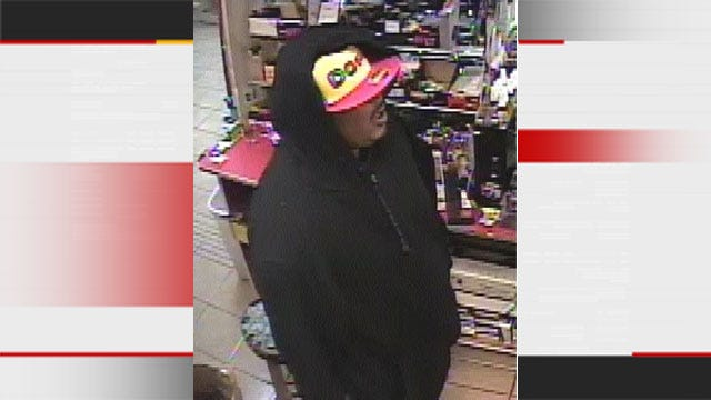 OKC Police Release Photos Of Suspect In Convenience Store Killing