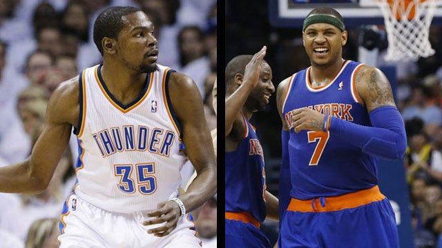 Thunder To Play In New York City On Christmas Day