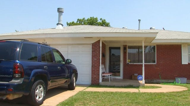 Burglars Strike OKC Family Recovering From Storm Damage