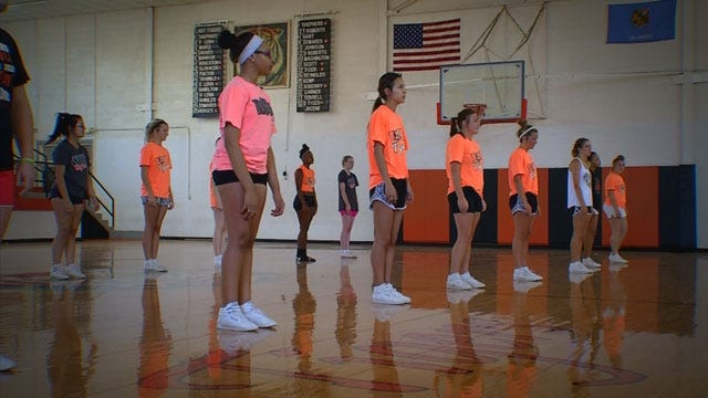 Wewoka Cheer Squad Receives Invite To Perform At Alamo Bowl