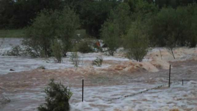 Deputies Rescue Elderly Woman From Car Trapped In High Water In Choctaw
