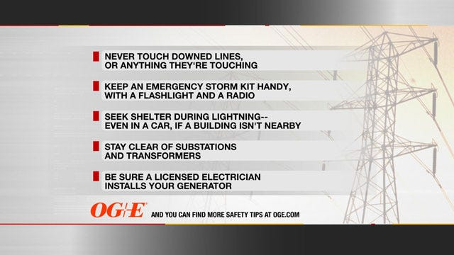 Downed Power Lines Cause Dangerous Problems After Storms