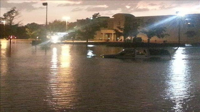 Heavy Rain Causes Major Flooding After Severe Storms Move Through Metro