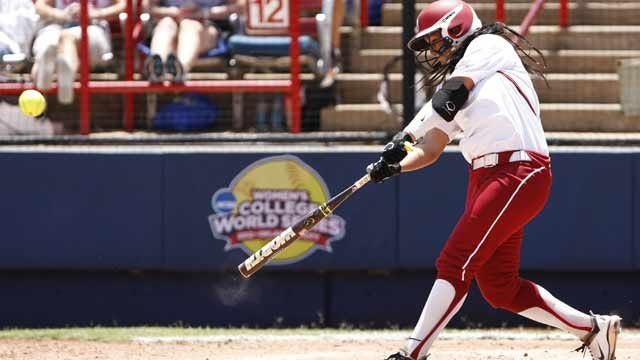 Red River Rout: Sooners Run-Rule Texas At Women's College World Series