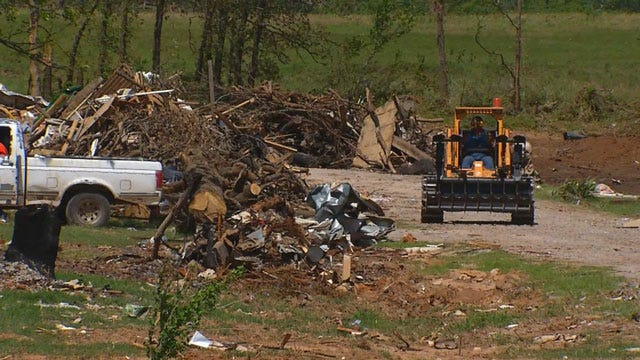 Clean Up Underway In Bethel Acres