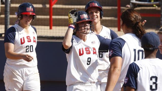 Four Oklahomans Named To Team USA Softball Roster