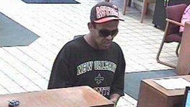 FBI Seeks Man In SW OKC Bank Robbery