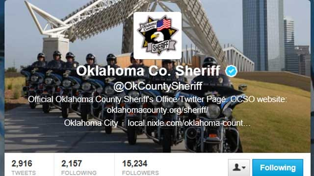 OK Sheriff's Office Using Twitter During Warrant Sweep