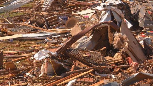 Tornado Debris Pick Up Set For Monday