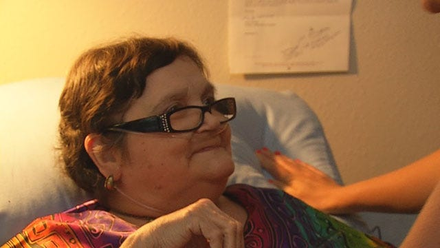 Ailing OKC Woman Donates Vacation Monies For Tornado Relief
