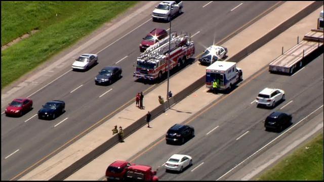 Crews On Scene Of Injury Accident On I-40, West Of OKC