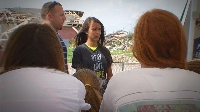Joplin Tornado Survivor, 14, Comes To OK To Counsel Storm Victims