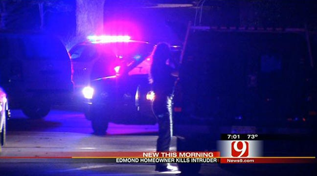 Police: Edmond Homeowner Shoots, Kills Intruder