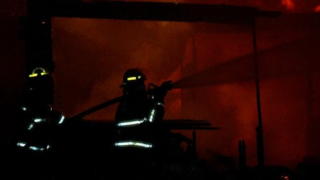 Sperry House Destroyed In Early Morning Fire
