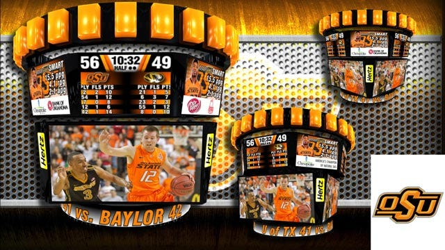 New Video Boards Set For Gallagher-Iba