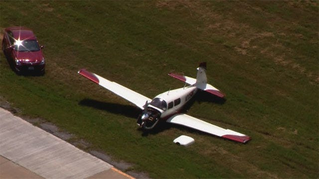 Plane Makes Hard Landing In El Reno