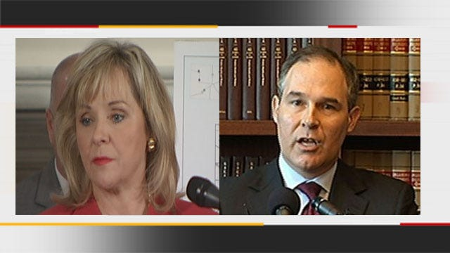 Gov. Fallin, Attorney General Say 'Traditional' Marriage Not Threatened In Oklahoma