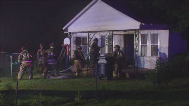 Neighbors Call 911 After Spotting House Fire In NE OKC