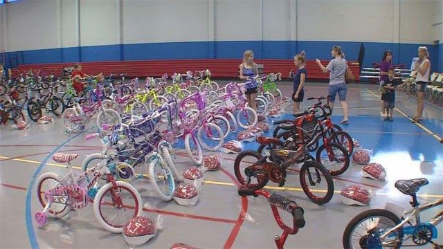 Briarwood Student, 9, Raises $8k, Gives Away 85 Bikes