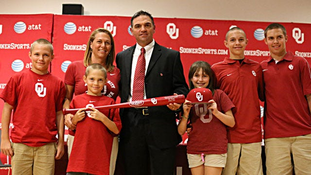 Hughes Excited To Join Oklahoma Baseball As Head Coach