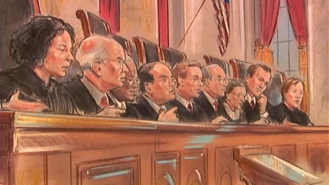 Supreme Court Boots Anti-Abortion Law Case Back To Oklahoma Court