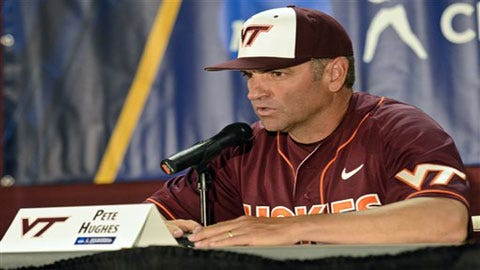 Virginia Tech's Pete Hughes New Sooner Head Baseball Coach