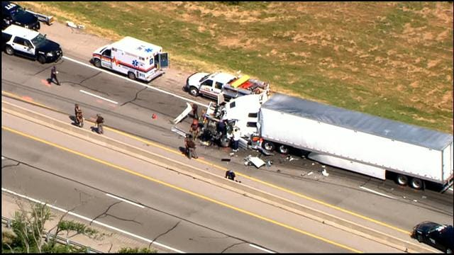 Westbound Turner Turnpike Reopens After Fatal Accident